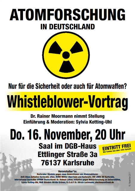 Whistleblower Plakat